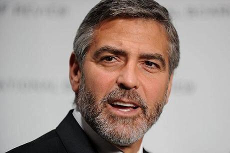 george clooney beard. George Clooney vende su casa